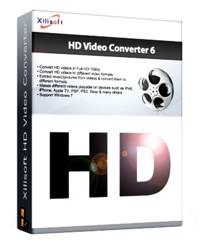 Xilisoft HD Video Converter 6.0.14.1231